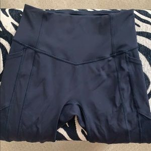 "Cropped (21"") High Waisted Lululemon Leggings"